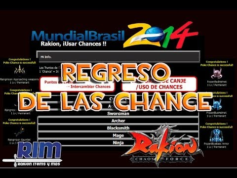 Rakion Regreso de las chances Evento Del Mundial 2014