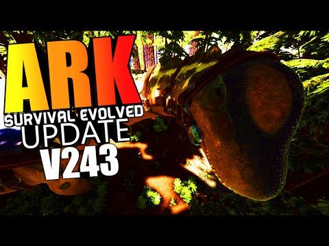 ARK Survival Evolved - TITANOSAUR GAMEPLAY, REDWOOD FOREST, TREE HOUSES Update v243 (ARK Gameplay)