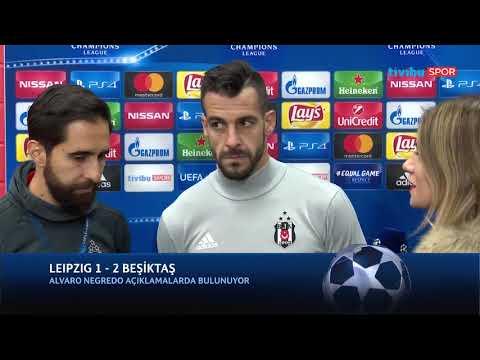 """Alvaro Negredo: """"Hedefimiz gruptan yenilgisiz çıkmaktı, bunu başardığımız için mutluyuz."""""""