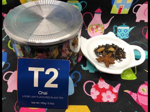 T2 Chai; Tea with Linda