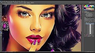 Vector Painting Photoshop Action | Photoshop Action | NiTTO | Hamonto Shakil