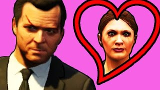 Michael & Amanda's Anniversary Date - GTA 5 Funny Moments