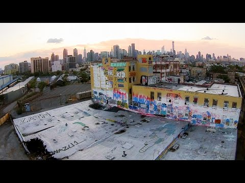Looking Down on 5Pointz with a
