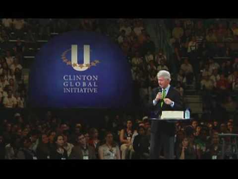 Bill Clinton's CGI U Address at Tulane University