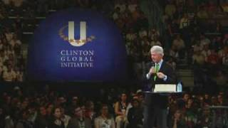 Bill Clinton's CGI U Address at Tulane University