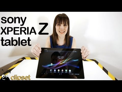 Sony Xperia tablet Z review Videorama