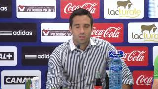 Rueda de prensa de Javier Flaño