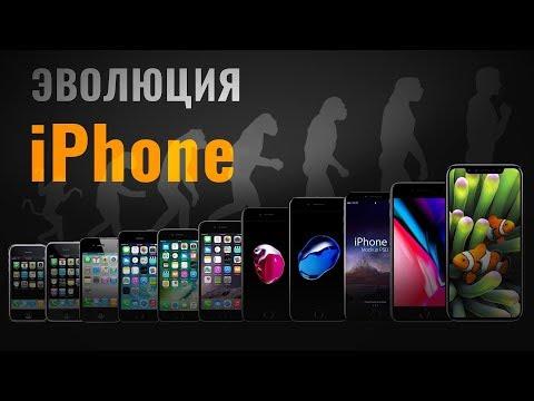 ЭВОЛЮЦИЯ iPhone: от iPhone 2G до iPhone X