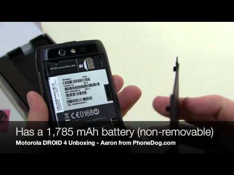 Motorola DROID 4 Unboxing (3)