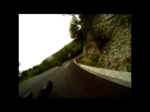 Bieuzy's longboarding Crash, October 2010