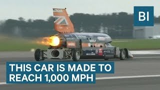 This Car Is Designed To Go 1,000 Mph And Break The Sound Barrier