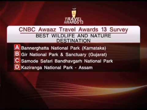 CNBC AWAAZ Travel Award 2013 survey Q -2