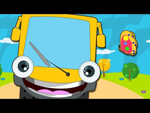 Nursery Rhymes - The Wheels Of The Bus Go Round And Round video