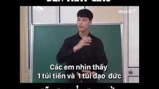 Thầy giáo cũng phải cạn lời