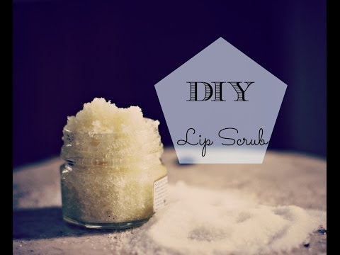 DIY Lip Scrub { How to get soft lips }