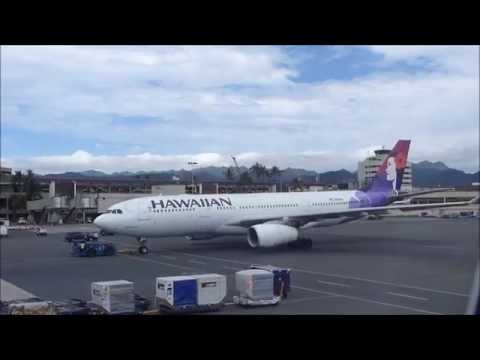 Seattle to Honolulu on Hawaiian Airlines 21, Feb  1, 2015