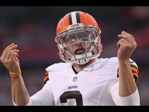 Johnny Manziel Mic'd up in first NFL game ever!