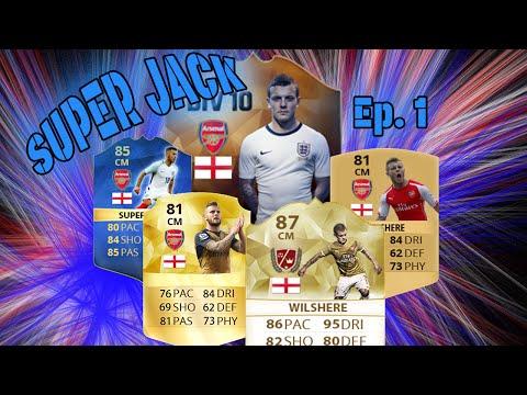 *SUPER JACK EP 1* - DEBUT JACK WILSHERE GOAL?! - FIFA 16 Road to Glory!