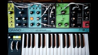 The Build & Sound of the Moog Grandmother