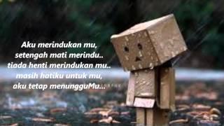 Judika  - Setengah Mati merindu (lirik)