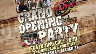 FREE Colt Ford concert along with Greg Zipadelli and the guys from Team Drop Zone Hunting