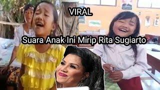 Lagi Viral  !!! Anak Sd Ini Suaranya Merdu Mirip Rita Sugiarto Nyanyi Lagu Religi Adem Banget