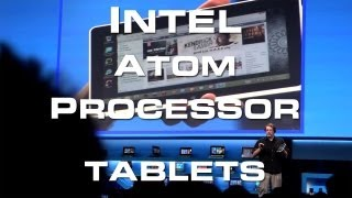 Tablets: New Intel Atom Processor