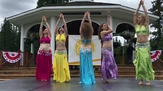 Banff Belly Dance Dum Dum Tak Drum Solo