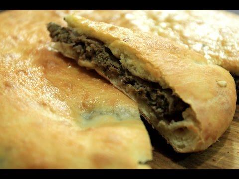 Осетинский пирог с мясом (фыджин)