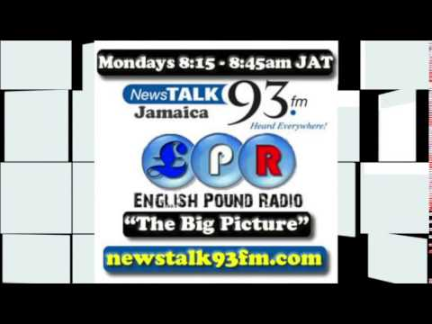 News Talk 93 FM (Jamaica) and  English Pound Radio - Topic: Contributing Back Home