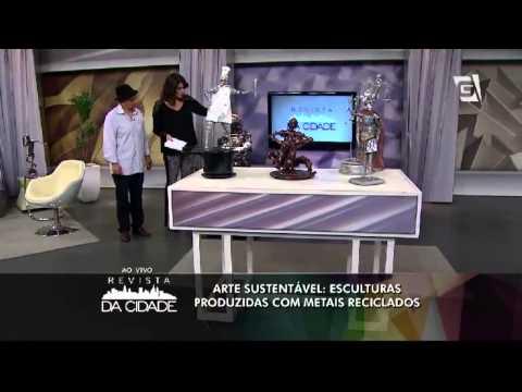 Revista da Cidade   Esculturas Sustentáveis de Wagner Ribeiro