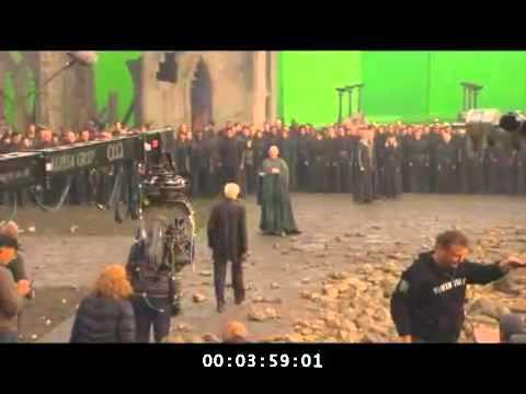 Detrás de las Cámaras - Harry Potter 7 parte II - Helena Bonham Carter