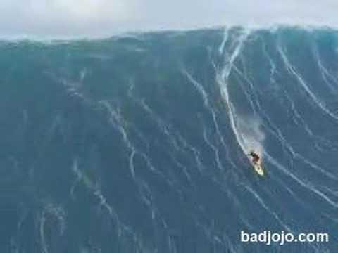 Worlds biggest wave ever surfed