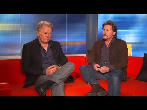 Martin Sheen and Emilio Estevez want you to 'get a life'