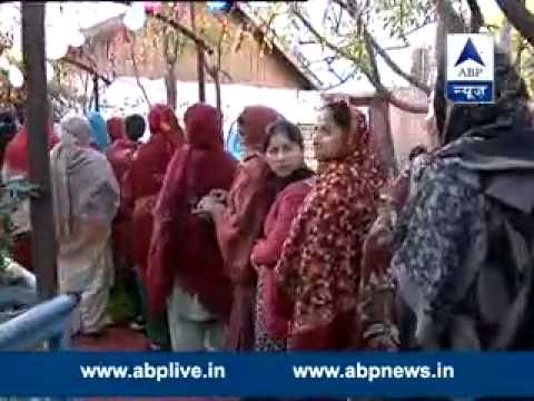 ABP LIVE l Bumper (70%) voting in Jammu and Kashmir in first phase