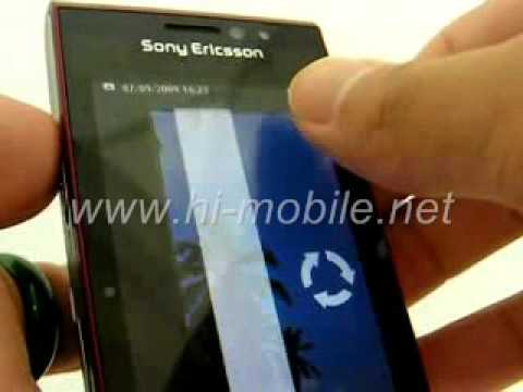 Sony Ericsson Satio (U1i) Fully Unlocked (www.hi-mobile.net)
