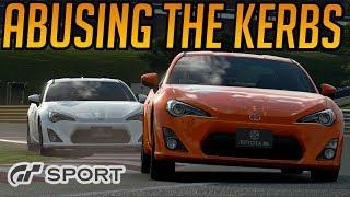 Gran Turismo Sport: Abusing Kerbs and Penalties