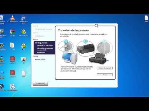 Instalar impresora canon PIXMA iP2700
