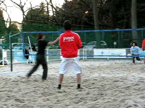 JFBT ビーチテニス サービスブロック