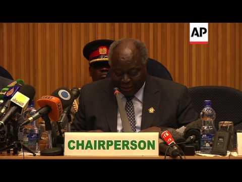 African Union leaders discuss Sudan, South Sudan and Mali