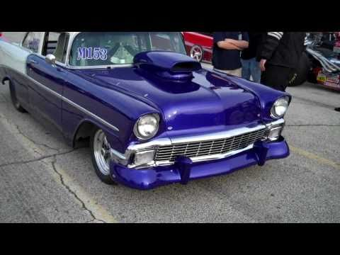 1956 Chevy 210 Sedan Drag Car