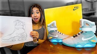 Whatever Sneaker You Draw, I'll Buy It - Challenge