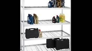 SAVE Heavy Duty Shelving Double-Post Steel Wire Shelf - 60 x 24 x 78