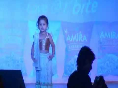 Navratri Evening event Small Girl Got Talent Dancing on Maiya...