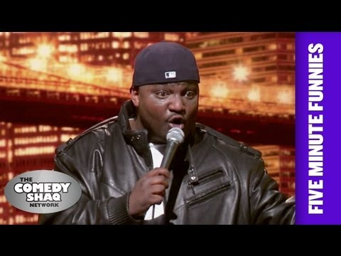 Aries Spears⎢White people do whatever they want⎢Shaq's Five Minute Funnies⎢Comedy Shaq
