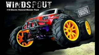 WINDSPOUT Monster Truck 1:10 HAIBOXING
