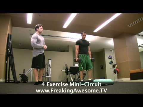 Intense 4 Exercises Circuit Training Image 1