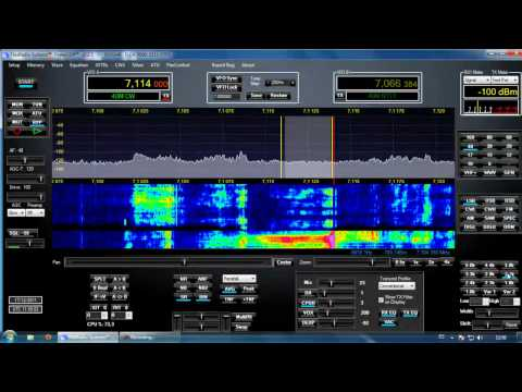 EA Stations in ESSB ( Extended SSB HiFi Audio) 40 meters