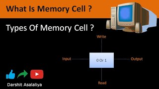 What Is Memory Cell ? Types Of Memory Cell | Working Of Memory Cell (Hindi)