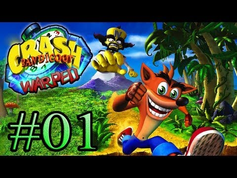 Let's Play : Crash Bandicoot Warped - Parte 1